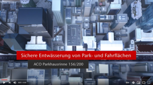 Video ACO Parkhausrinnen